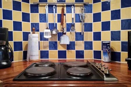 Maison Christol - elektrisch vuur keuken