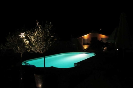 Maison Christol - zwembadverlichting