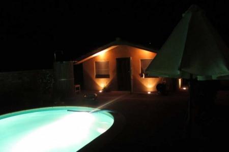 Maison Christol - poolhouseverlichting